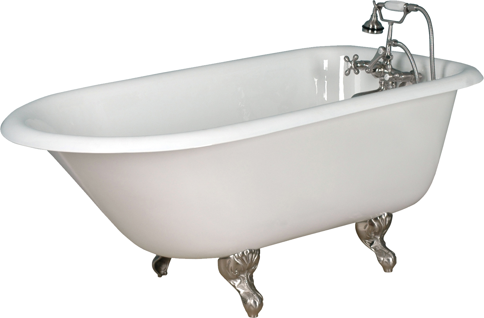 Bath Tub With Shower Bathtub Png Transparent Png Images