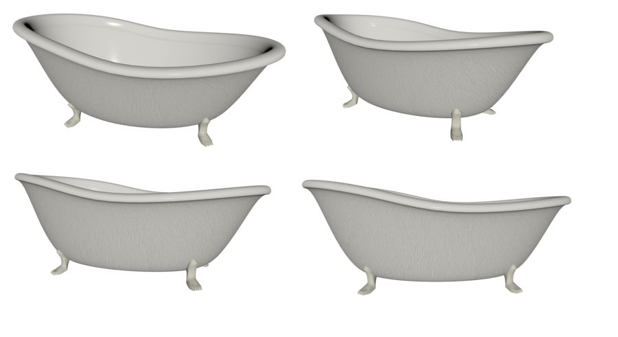 Bathtub Set png by mysticmorning PlusPng.com  - Bathtub PNG HD