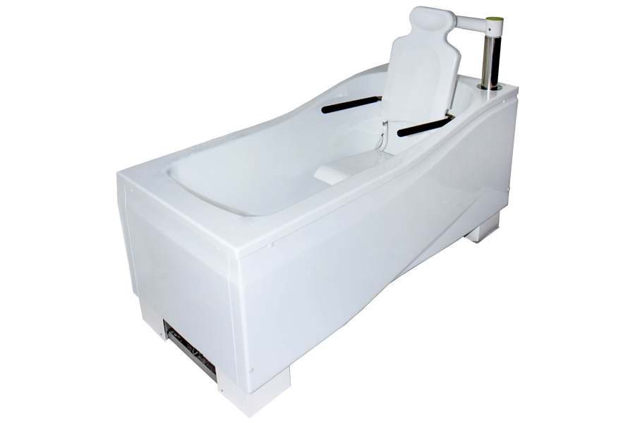Compact Fixed Height Bath - Bathtub PNG HD