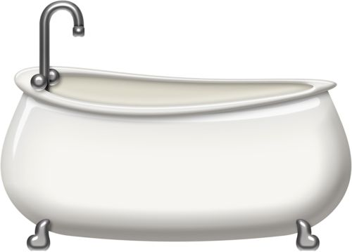 LRiches_SqueakyClean_BathTub.png - Bathtub PNG HD