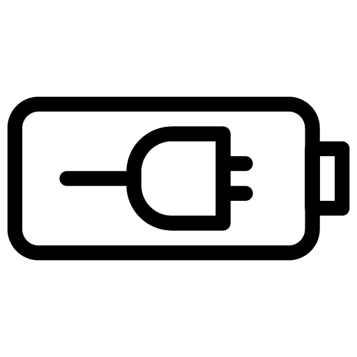Battery-Charge Icon. PNG File: 512x512 Pixel - Battery Charging PNG