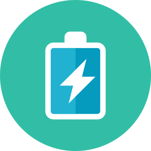 Battery-Charging Icon. PNG File: 512x512 Pixel - Battery Charging PNG
