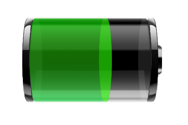 Battery Icon Image #34300 - Battery Charging PNG