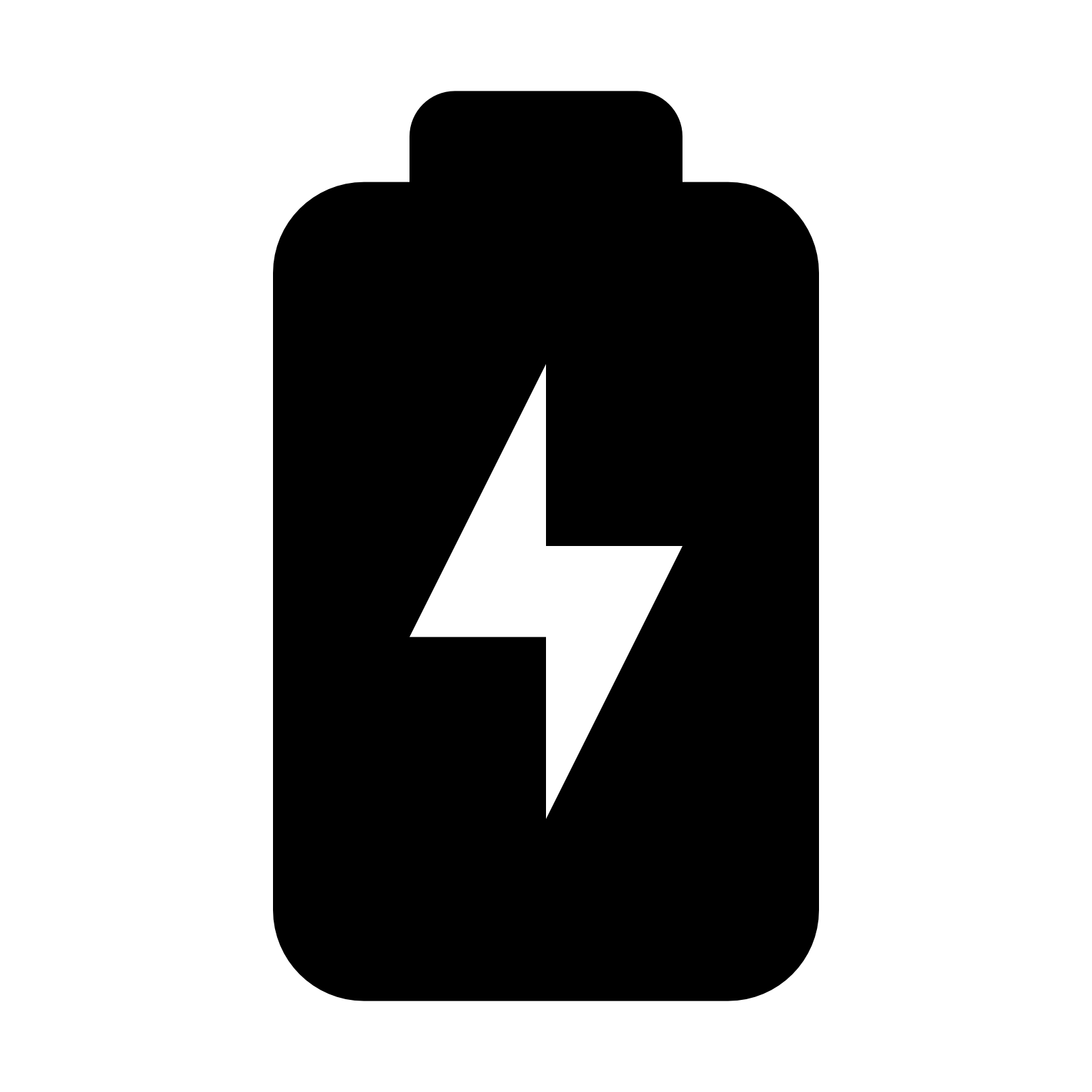 Charging Battery Icon - Battery Charging PNG