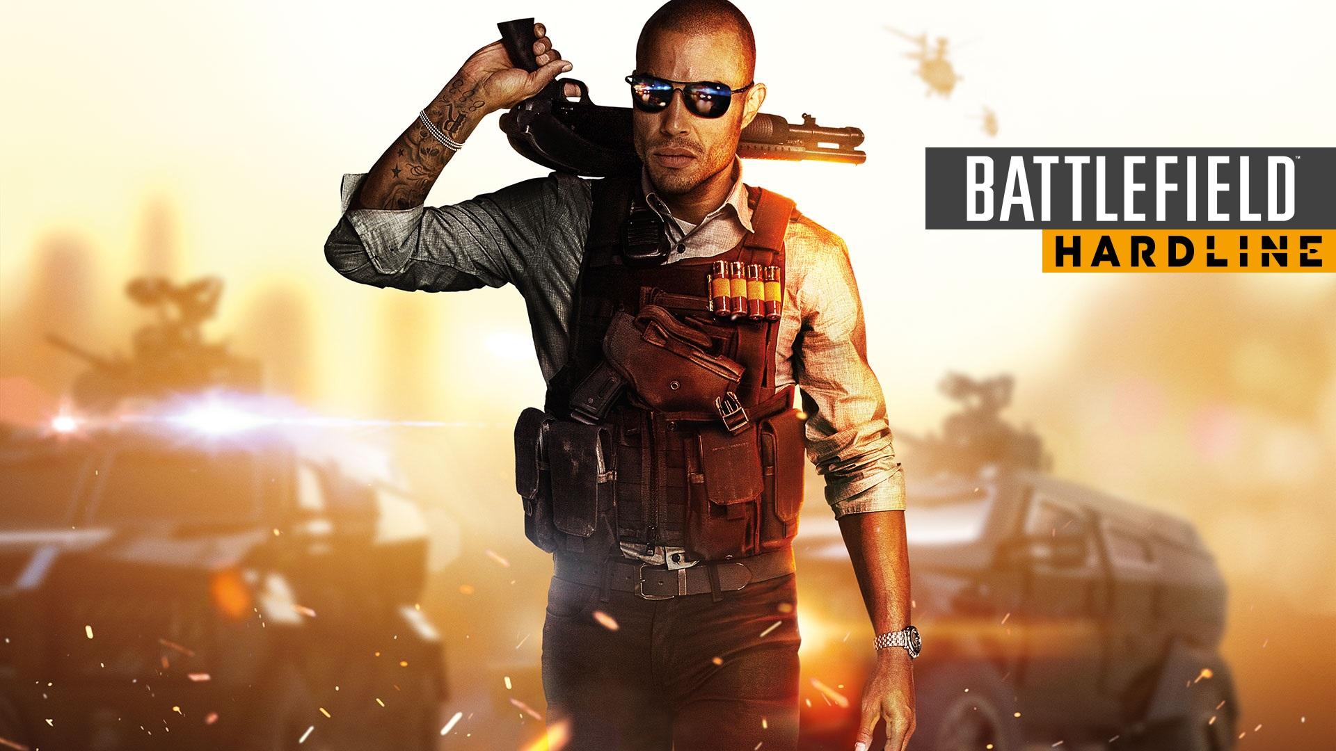 Battlefield Hardline Back Cover - Battlefield Hardline PNG