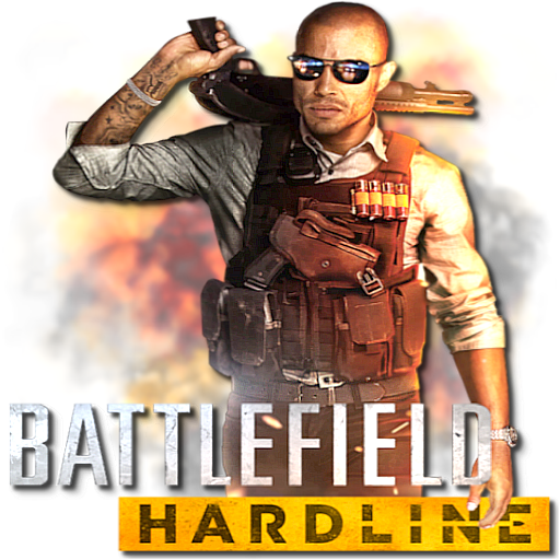 Battlefield Hardline by POOTERMAN PlusPng.com  - Battlefield Hardline PNG