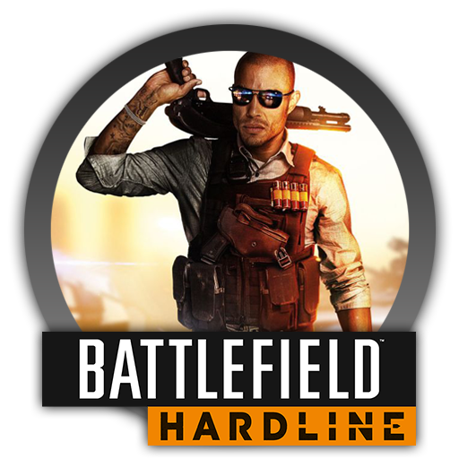 Battlefield Hardline - Icon by Blagoicons PlusPng.com  - Battlefield Hardline PNG