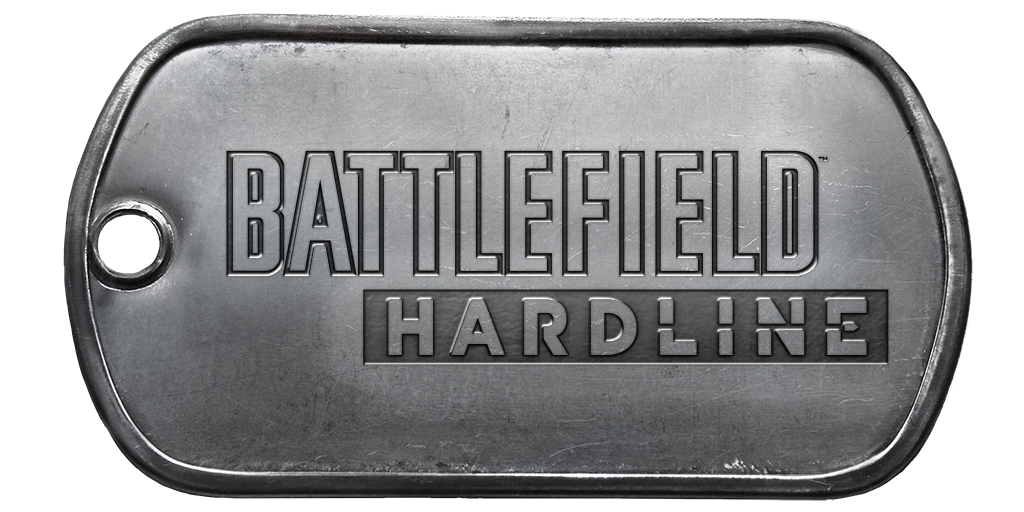 Battlefield Hardline Logo Png Battlefield Har. - Battlefield Hardline PNG