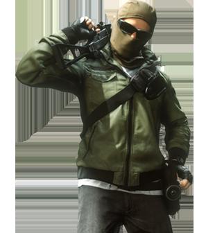 Criminal Mechanic - Battlefield Hardline PNG