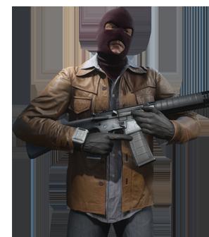 Criminal Operator - Battlefield Hardline PNG