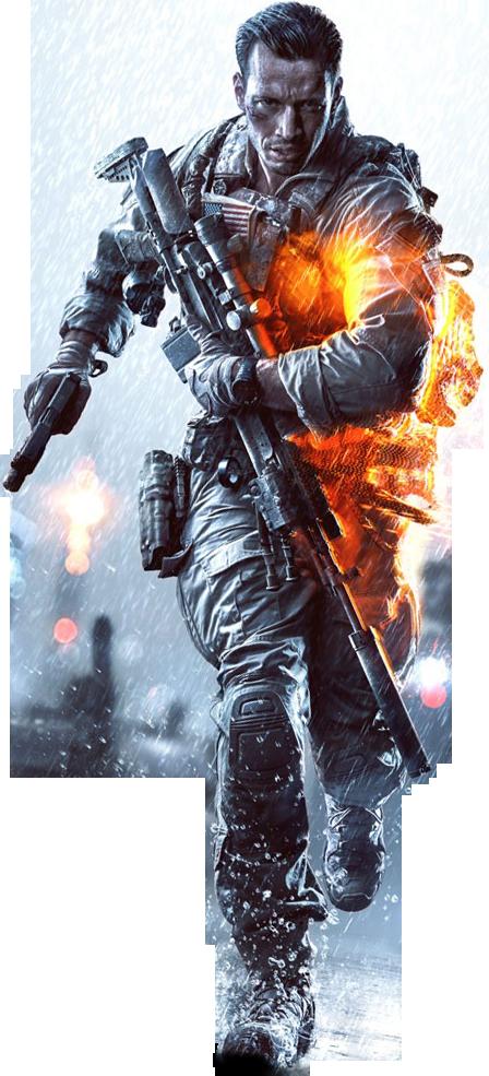 Battlefield 4 Render By Ashish913 by Ashish-Kumar PlusPng.com  - Battlefield HD PNG