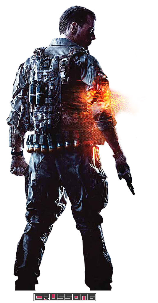 Battlefield 4 - Soldier Render 3 by Crussong PlusPng.com  - Battlefield HD PNG