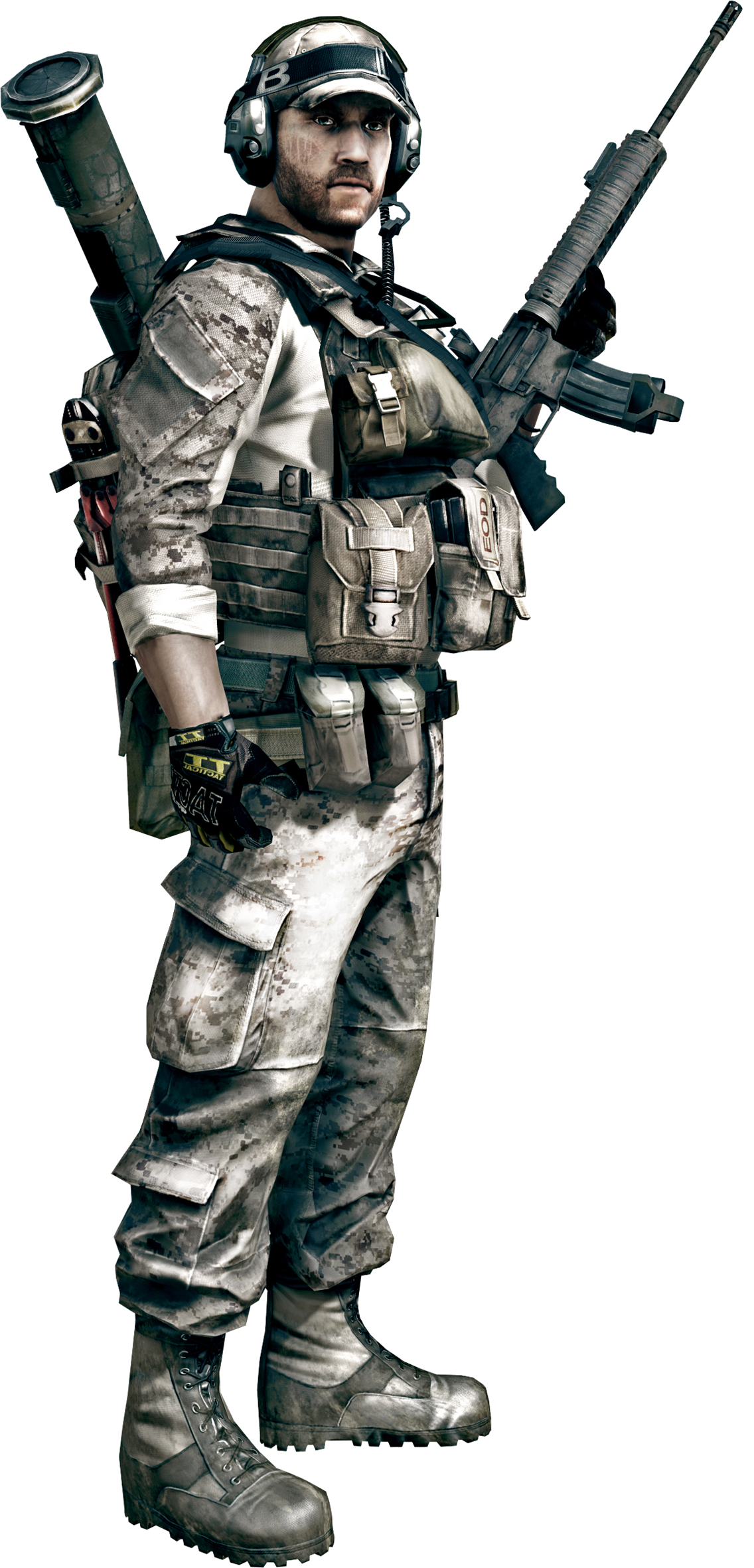 Battlefield3Engineer.png - Battlefield HD PNG