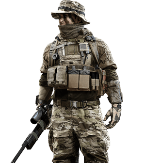 File:BF4 Us recon.png - Battlefield HD PNG