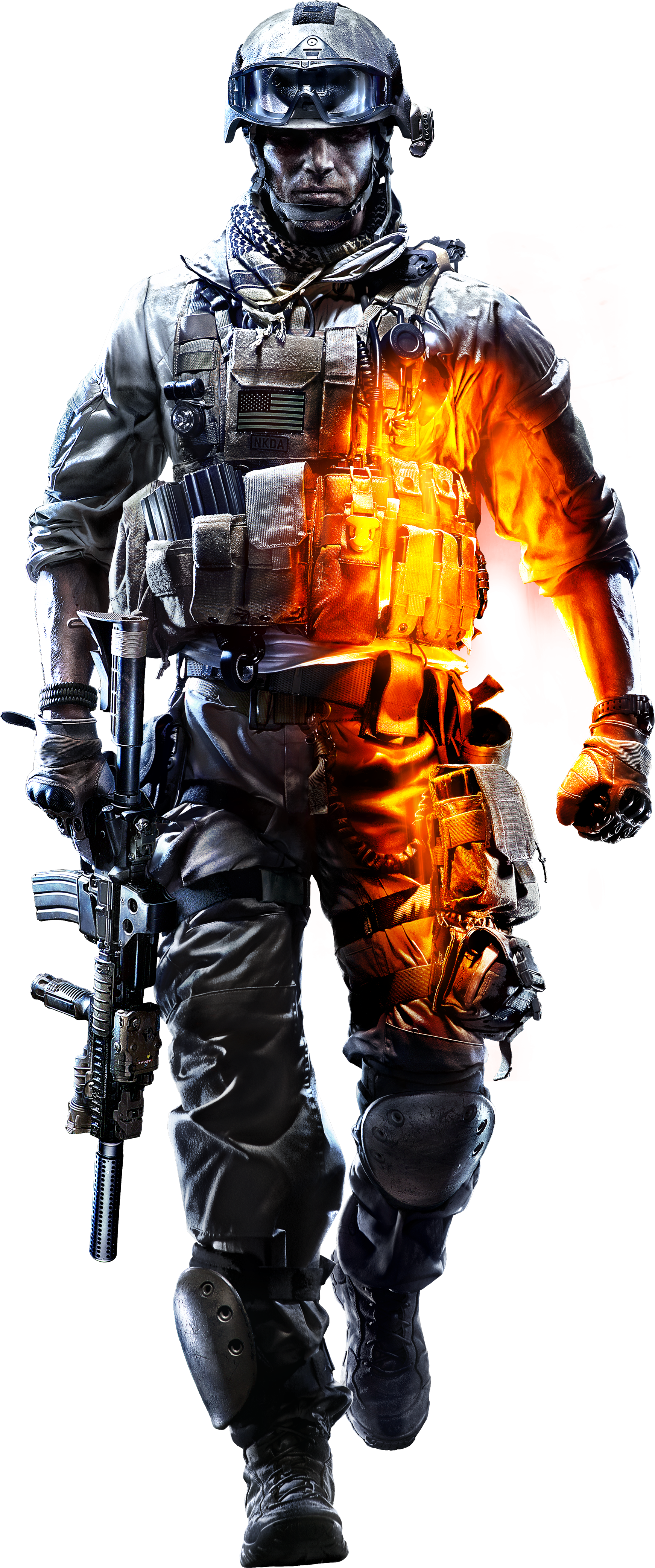 Image - Promotional Soldier BF3 HQ Render.png | Battlefield Wiki | FANDOM  powered by Wikia - Battlefield HD PNG