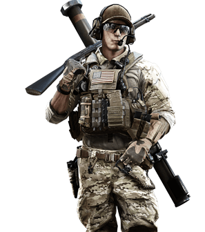 Us-engineer.png - Battlefield HD PNG