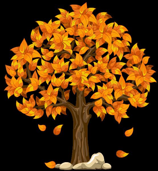 Herbst - Baum Vier Jahreszeiten PNG