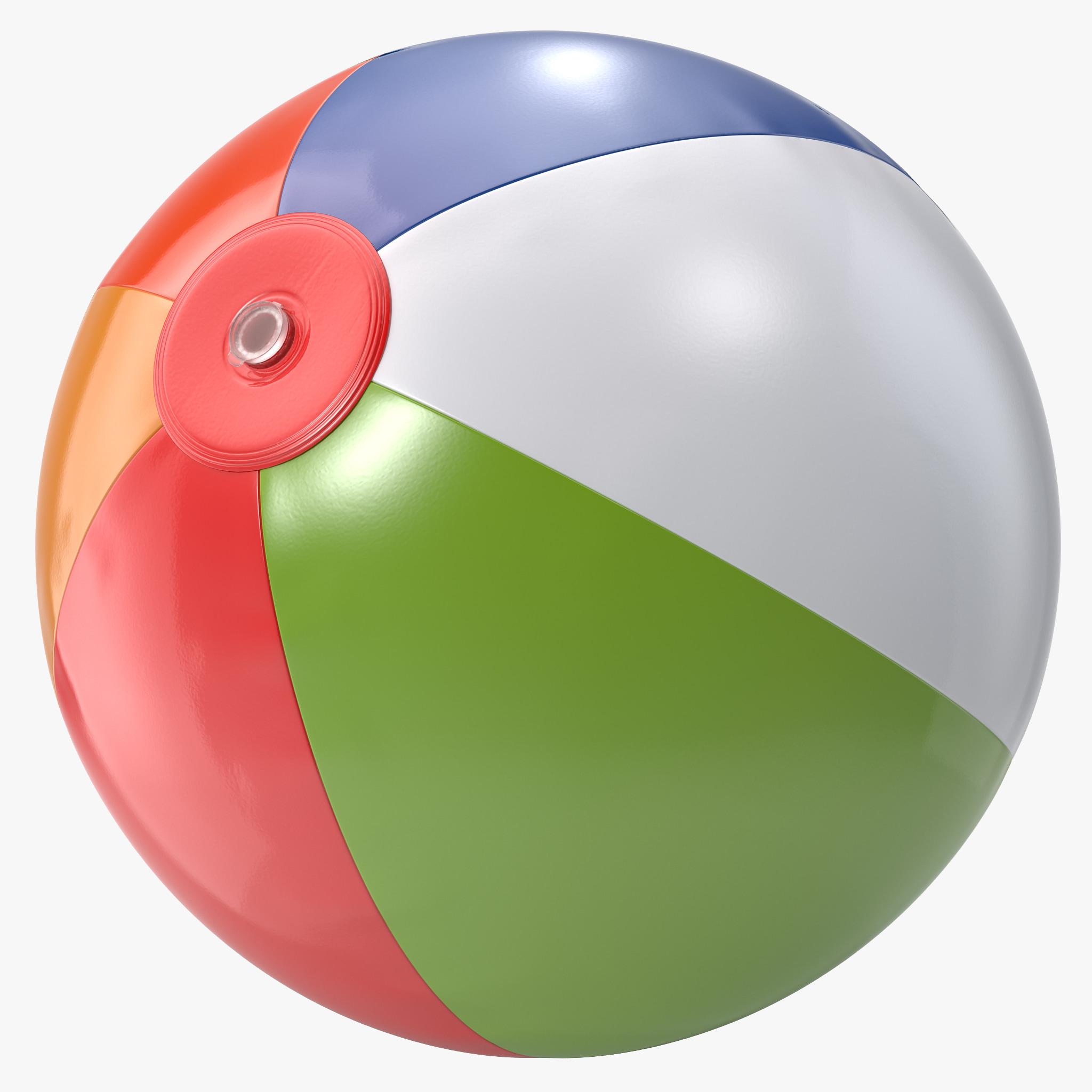 . PlusPng.com Beach Ball 3d Model Beach Ball Png PlusPng.com  - Beach Ball PNG