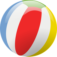 Beach Ball Free Png Image PNG Image - Beach Ball PNG