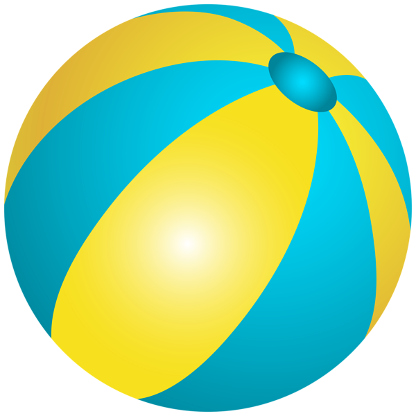 Beach Ball PNG Clip Art Image - Beach Ball PNG