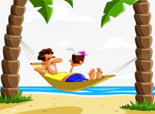 beach boy, Creative, Cartoon, Hand Painted PNG Image and Clipart - Beach Boy PNG