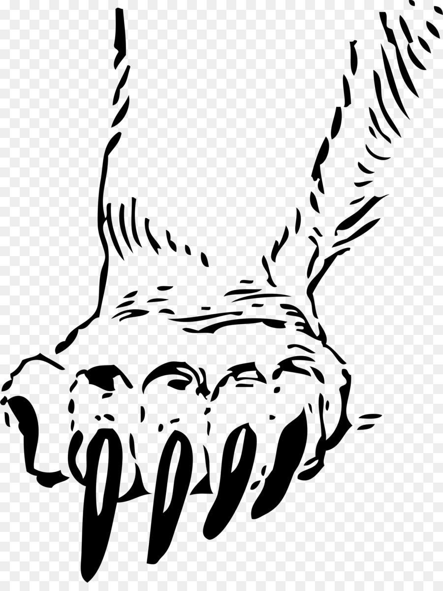 Grizzly bear Paw Decal Clip art - claw scratch - Bear Claw Scratch PNG