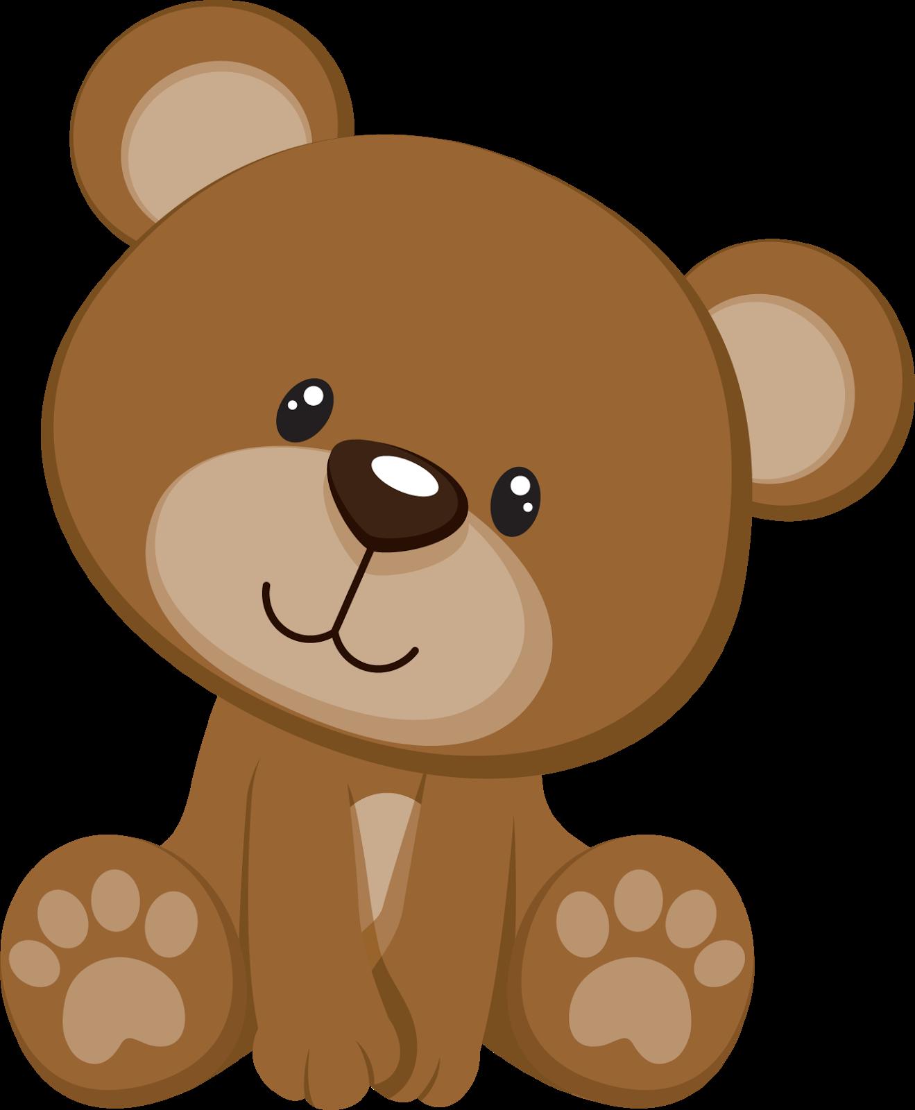 Cute Bear Peeker for Winter r