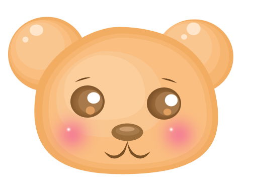 Cute Bear by llenalove PlusPng.com  - Bear Cute PNG