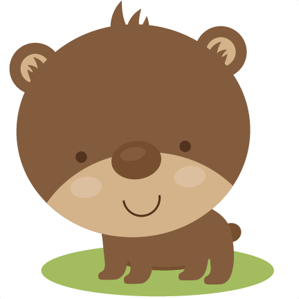 Cute Bear SVG scrapbook file