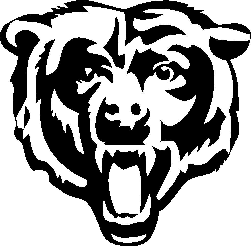 Chicago Bears Logo Black And