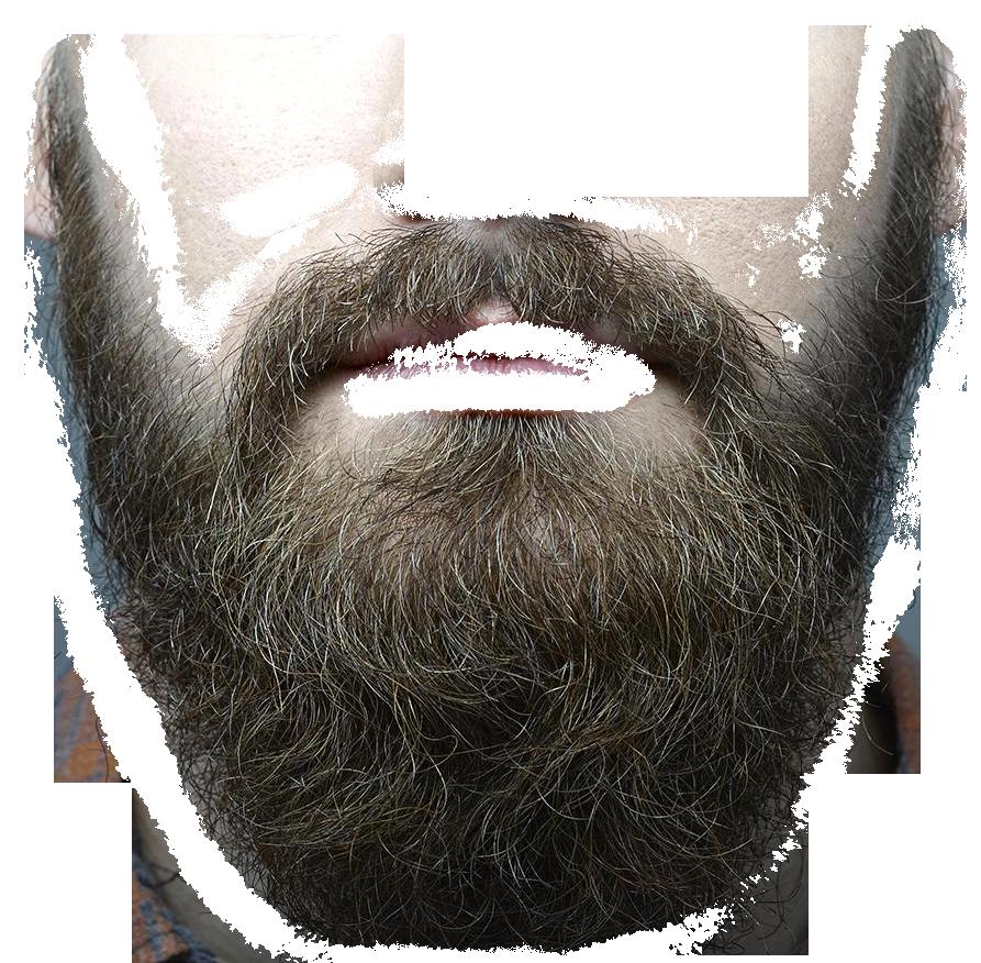 Beard PNG Transparent Image - Hair PNG