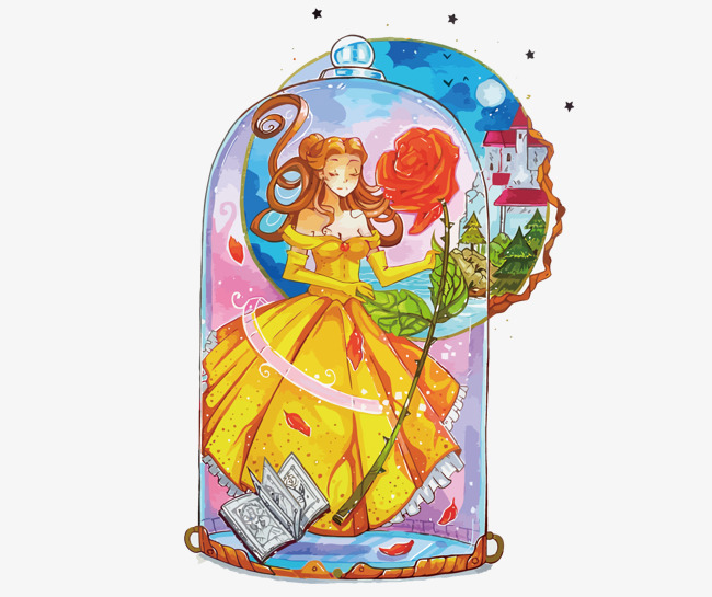 Beauty And The Beast Free PNG - 150140