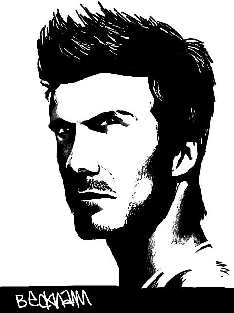 Beckham Vector PNG