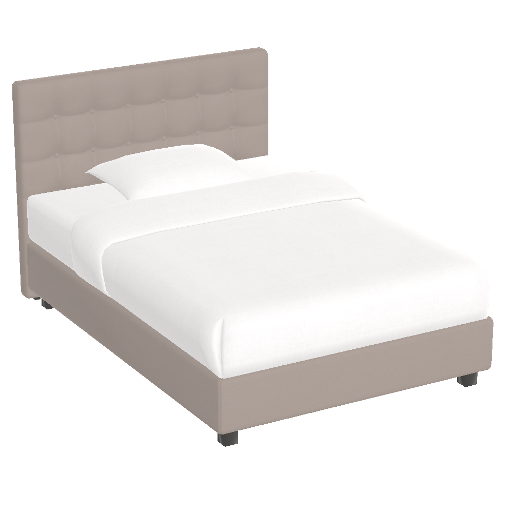 Boxspring bed Noblesse - Bed HD PNG