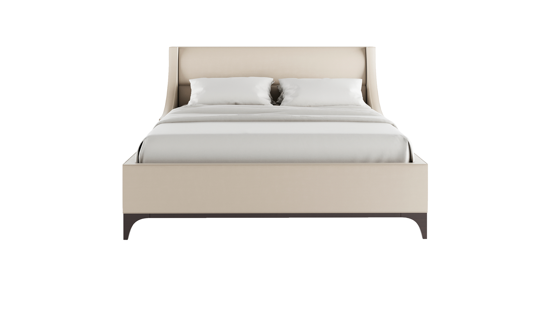 H43 in, W71 in, D89 in - Bed HD PNG