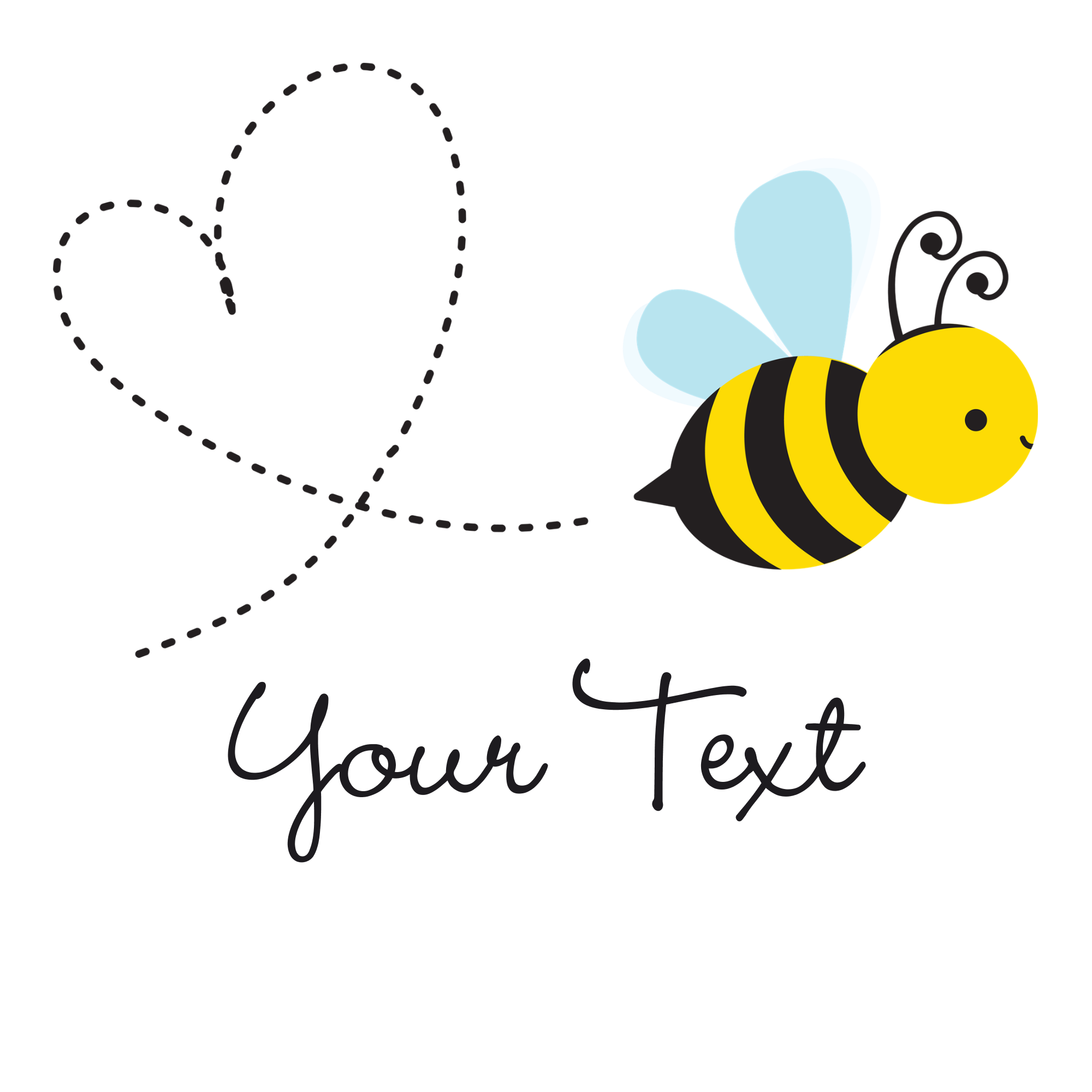 Bee Cute PNG - 156471