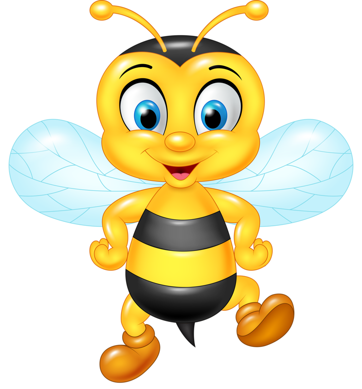 Bee Cute PNG - 156480