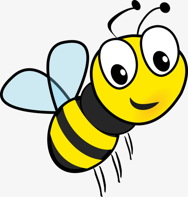 flying cartoon bee, Flight, Cartoon, Bee PNG Image and Clipart - Bee Free PNG