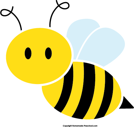 Free Bee Clip Art of Cute bee side image for your personal projects,  presentations or web designs. - Bee Free PNG