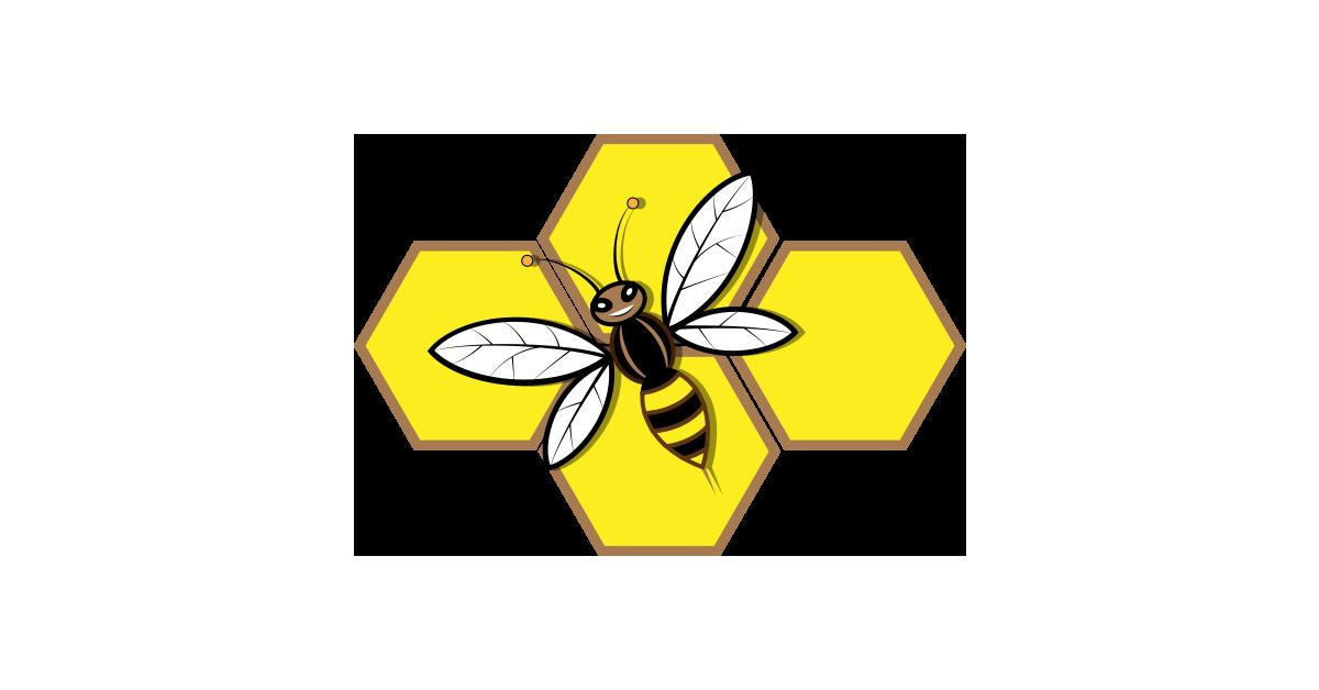 Honey Bee Symbol Illustration Vector Pack Free PNG Graphic Cave - Free PNG  Honey Bee - Bee Free PNG