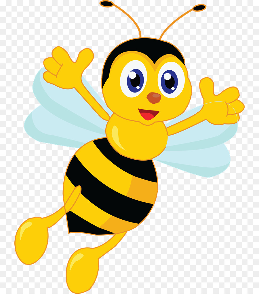 Queen bee Free content Clip art - Bee Cliparts - Bee Free PNG
