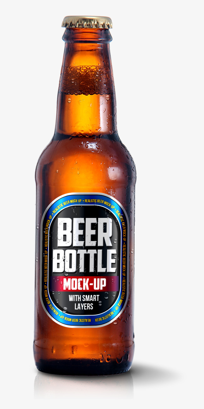 A beer bottle, Beer Bottle, Brown, Foam Free PNG and PSD - Beer Bottle PNG HD