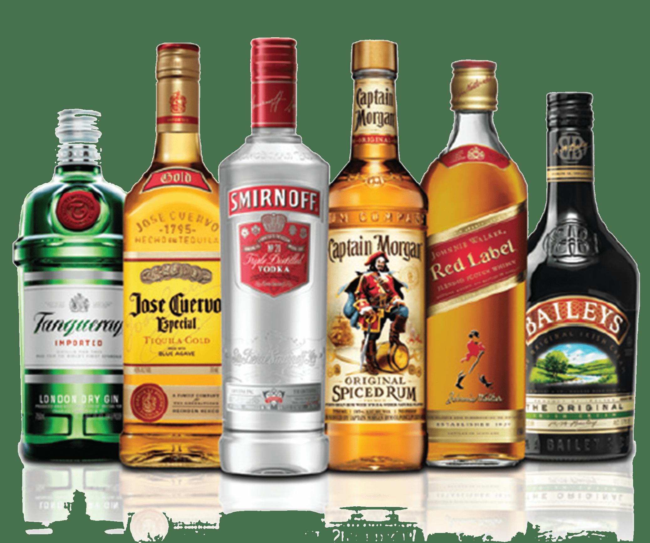 Alcohol Bottles - Beer Bottle PNG HD