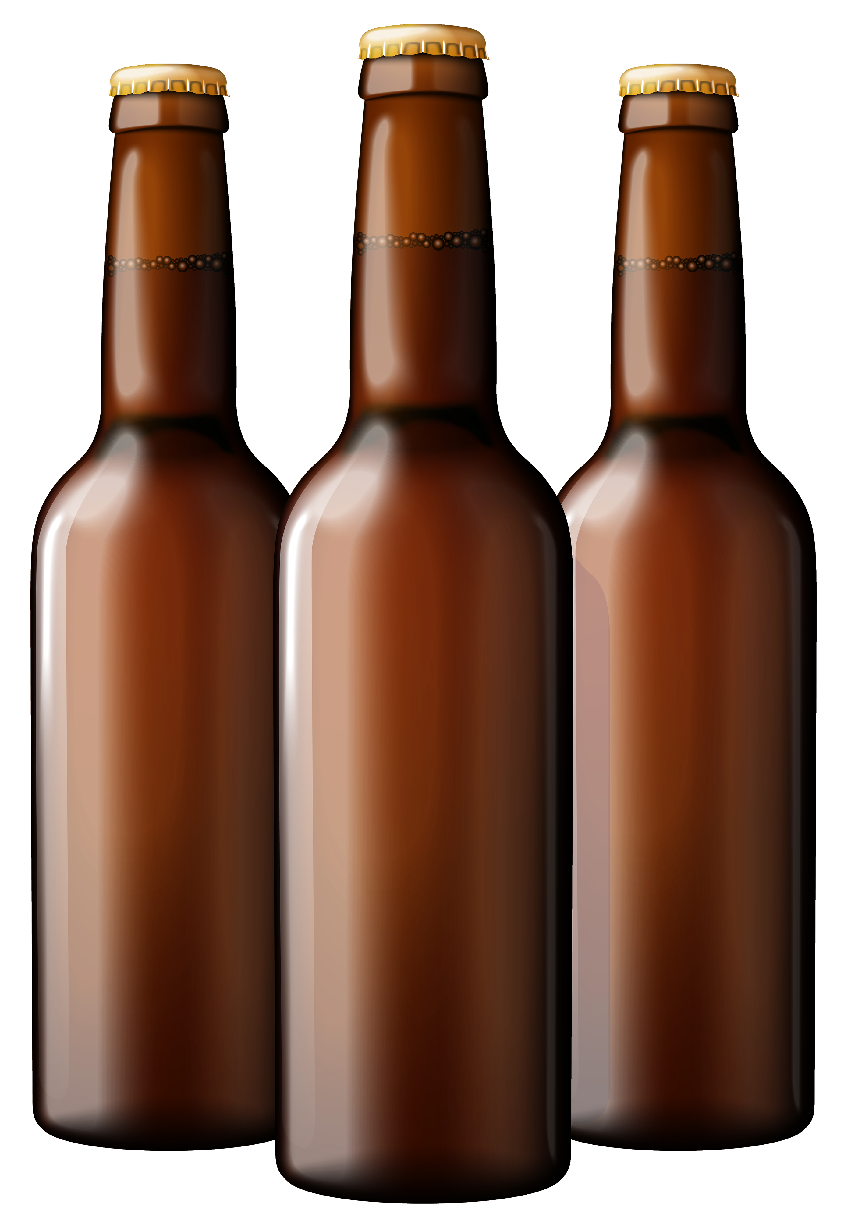 Brown Beer Bottles PNG Clipart - Beer Bottle PNG HD