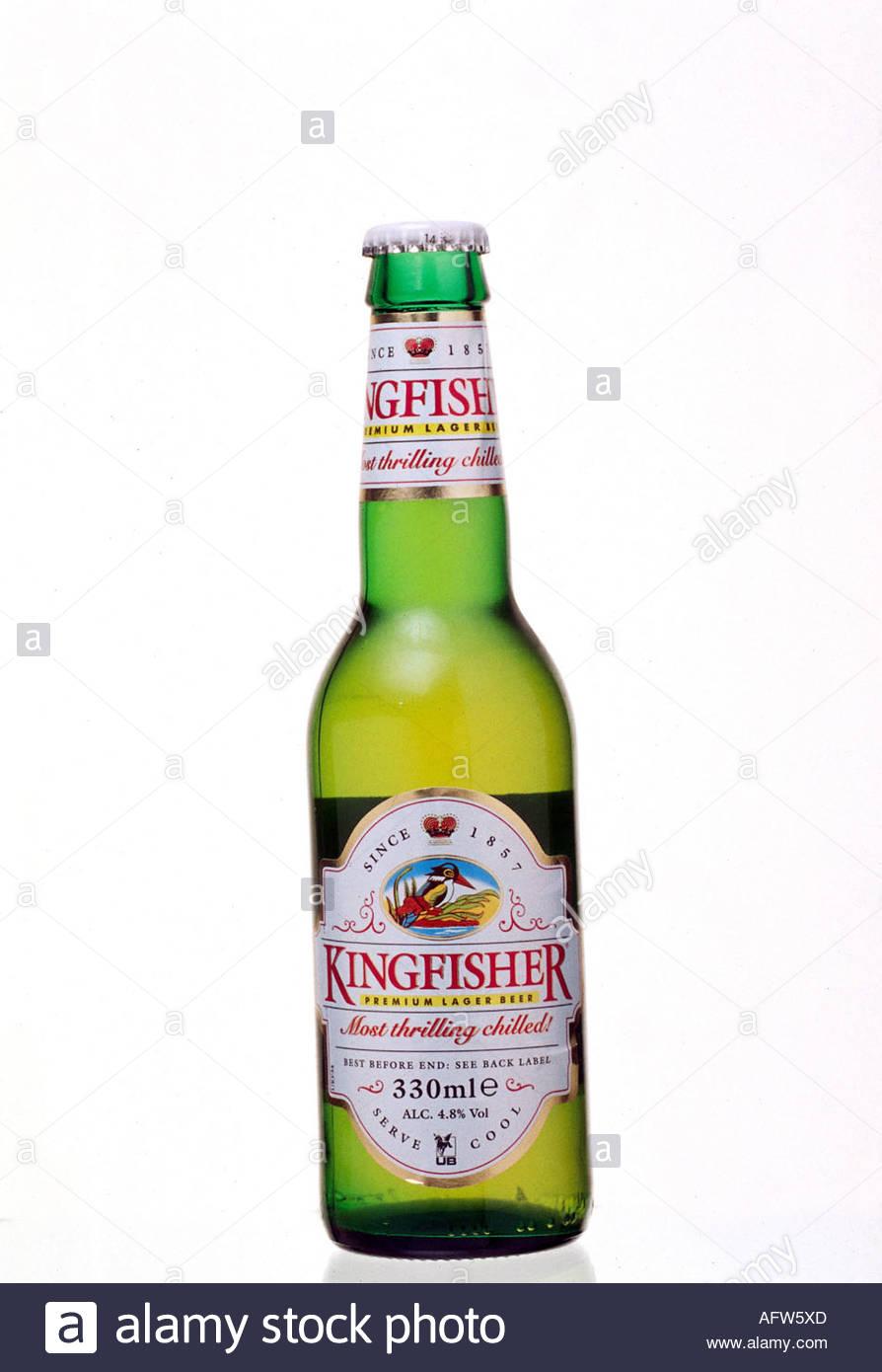 u0027food and beverages, alcohol, beer, bottle u0027Kingfisher Premium Lager Beeru0027 - Beer Bottle PNG HD