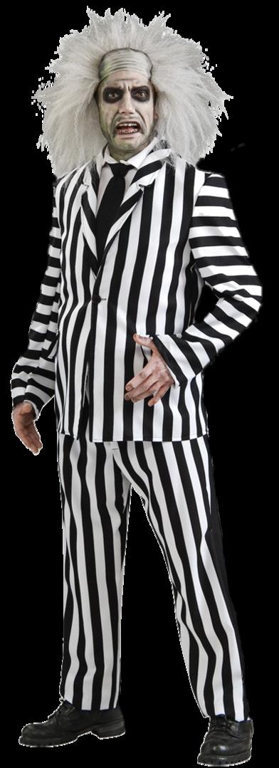 Beetlejuice costume suit - Beetlejuice PNG