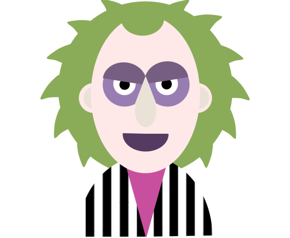 Beetlejuice Png Dibujo Vector Ilustracion by Montse-glezz PlusPng.com  - Beetlejuice PNG