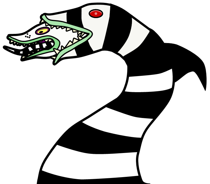 Sandworm for drawing comp 21 by Demonlemon PlusPng.com  - Beetlejuice Vector PNG