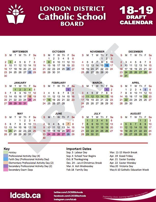 18-19 LDCSB Draft Calendar.pn
