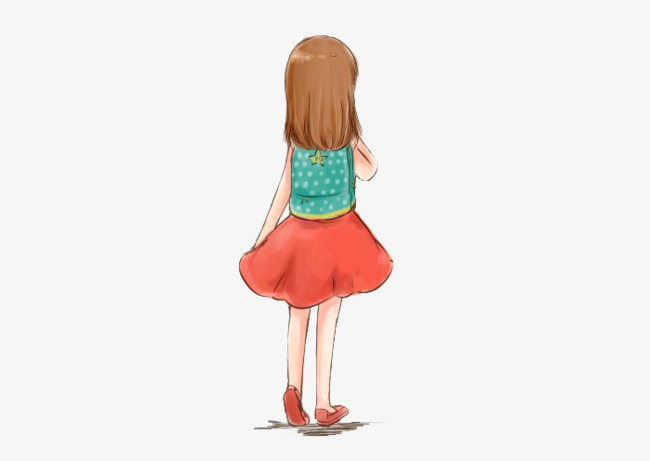 The Little Girl Left Behind, Leave, Don\u0027t Use, Gules PNG - Behind Girl PNG